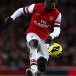 Bacary Sagna in action
