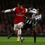 Mikel Arteta clashes with Gael Bigirimana