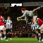 Tim Krul makes a save