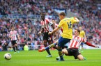 Aaron Ramsey scores against Sunderland 09142013