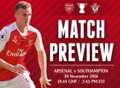 Match Preview: Arsenal v Southampton; Changes Coming