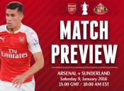 Match Preview: Arsenal v Sunderland; A Cup in Time or Ill-Timed?