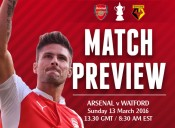 MATCH PREVIEW: Arsenal v Watford; Another Step Towards History