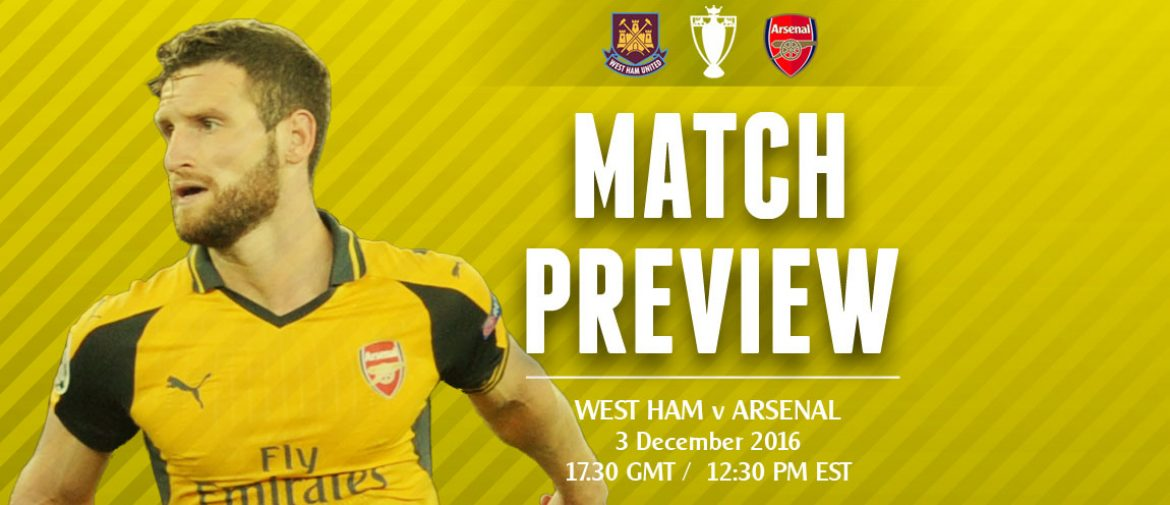 Match Preview: West Ham v Arsenal; Turn Up or Tumble