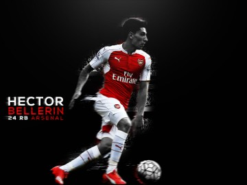 Hector Bellerin Custom Wallpaper