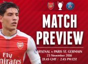 MATCH PREVIEW: Arsenal v PSG; Destined for the Top or Not?