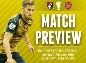 Match Preview; Bournemouth v Arsenal; Time for Something to Kick In