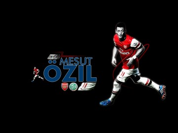 Mesut Özil Wallpaper (Dark)