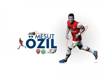 Mesut Özil Wallpaper (Light)