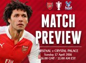 Match Preview: Arsenal v Crystal Palace; Anything Worth Playing For?