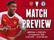 MATCH PREVIEW: Arsenal v Chelsea