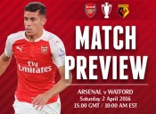 Match Preview: Arsenal v Watford; Can We Kick It?