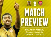 Match Preview: Hull City v Arsenal; The Match No One Wanted