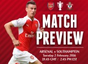 Match Preview: Arsenal v Southampton; Wake up in February Makeup