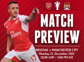 Match Preview: Arsenal v Manchester City; It Is and Isn't A Title Decider