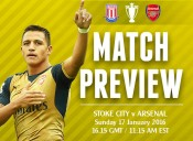 Match Preview: Stoke City v Arsenal; The Alexis Conundrum
