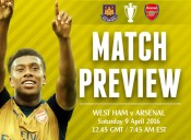 Match Preview: West Ham v Arsenal; Iron On