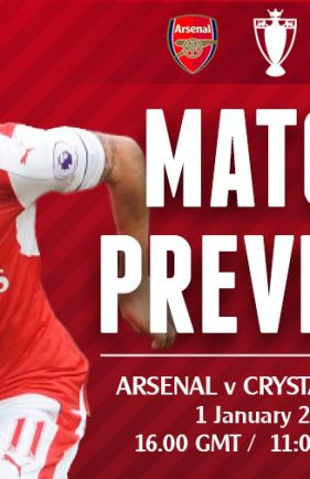 Match Preview: Arsenal v Crystal Palace; Looking for Consistency