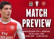 Match Preview: Man City v Arsenal; Title Tilt or December Doldrums?
