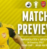 Match Preview: Swansea City v Arsenal; Trying to Keep Pace